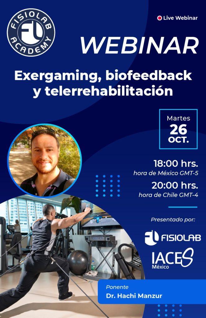 Exergaming, biofeedback y telerrehabilitación